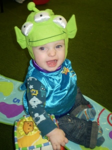 Toy Story Alien Fancy Dress